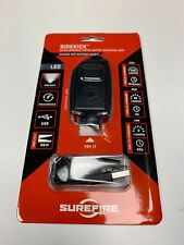 SureFire Sidekick-A 300-Lumen Ultra-Compact Triple-Output Keychain Light Black
