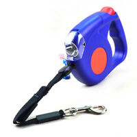 Super Retractable Dog Leash with LED Flashlight Torch / 4.5 Meters / BU