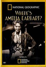 BRAND NEW DVD / NATIONAL GEOGRAPHIC // WHERE'S AMELIA EARHART ?