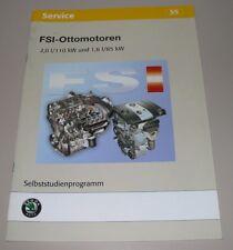 SSP 55 Skoda FSI Ottomotoren 2,0 110 kW + 1,6 l 85 kW Selbststudienprogramm 2004