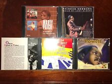 Jazz Piano 5CD LOT: Bud Powell, Phineas Newborn, Marty Paich, Earl Hines