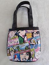 Women /Girl's Marvel comic Vinyl Mini Bag Handbag Mini Tote  Purse Collectible