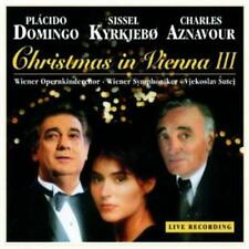 Domingo Placido / Christmas In Vienna 3 **NEW** CD