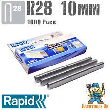 Rapid R28 10mm Cable Staples 1000 Pk -  R28, Arrow T18, Rapesco CT45, Novus J19S