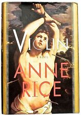 Violin, a novel by Anne Rice— a Borzoi book from Knopf (1997) (hardcover+jacket)