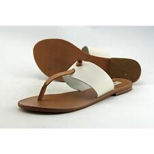 758e0c6e4 Steve Madden Olivia Women US 8.5 White Flip Flop Sandal Pre Owned 1127
