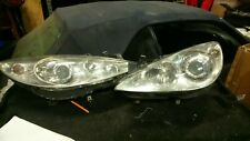 PAIR OF PEUGEOT 307 AND CC  HEADLIGHTS O/S AND N/S 2005/2009 MODEL