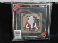 """MILL HILL HOLIDAY IV BUTTONED & BEADED KIT """"I BELIEVE"""" 1996 - NIP,NEW IN PACKAGE"""