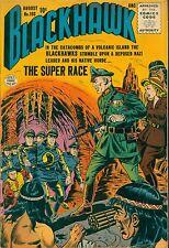 """QUALITY (1956) BLACKHAWK #103 -- August - """"The Super Race"""" - 6.5 FN+"""
