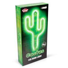 CACTUS LED NEON LIGHT - 35357 DESERT GREEN WALL MOOD NIGHT LAMP KIDS BEDROOM FUN
