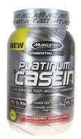 MuscleTech Platinum 100% Casein Protein 1.3Lbs Strawberry Shortcake