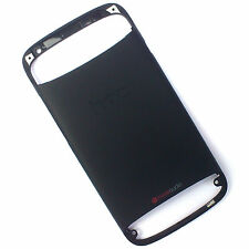 100% Genuine HTC One S rear fascia housing back+side+top front cover Black beats