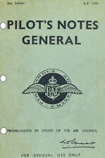 PILOT'S NOTES GENERAL AP 2095: THE ESSENTIAL 1943 SECOND EDITION 135 PAGES