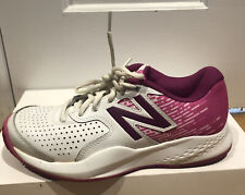 New Balance 696v3 Women's Tennis Shoes Size 7.5 US Pink And white