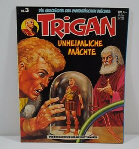 Comic -  Trigan -  Unheimliche Mächte - Band 3 - Copyright 1977 -