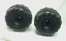Power Wheels B9272-2269 Set of 2 Kawasaki KFX Ninja Rear Wheels