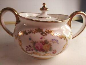 Vintage Cauldon England Sugar Bowl