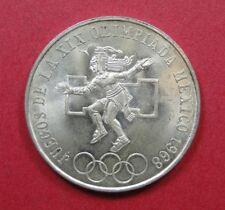 MEXICO - 1968 SILVER 25 PESOS - XIX OLYMPICS - NICE COIN