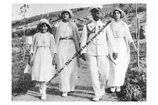 mm810- Czar Nicholas II Romanov & Alix & Anastasia & Tatiana 1914- Royalty photo