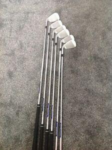 Ping G410 Irons Regular, Steel Shaft. Ping Blue Spot. 5-PW