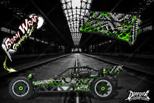 "HPI BAJA 5B SS WRAP GRAPHIC ""WAR MACHINE"" HOP-UP DECAL KIT FOR OEM BODY PARTS"