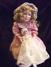 UFDC fine porcelain Emily w Bebe Teteur Connie Walserdich signature LTD 450