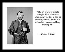 General Ulysses S Grant 4x6 Photo Print Civil War Lincoln Army