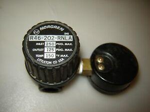 NORGREN PNEUMATIC AIR REGULATOR R46-202-RNLA