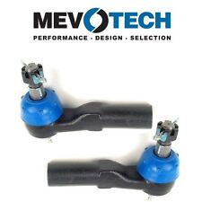Dodge Dakota Pair Set of 2 Front Outer Forging Greasable Tie Rod Ends Mevotech