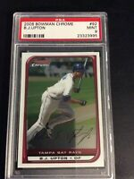 2008 Bowman Chrome B.J. Upton PSA Mint 9 #92