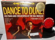 DANCE TO DUKE ELLINGTON AT BAL MASQUE COLUMBIA JAZZ LP #CSRP8098 VG++