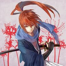 "Rurouni Kenshin Poster Himura Movie Silk Posters Prints 24x24"" RK10"