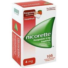 NICORETTE 4 mg freshfruit Kaugummi 105 St PZN 1642887