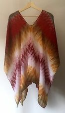 NEW Women's Summer Kaftan Caftan Ladies Chiffon TOP Cap Free Size Light and Soft