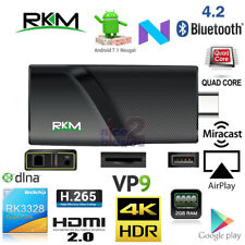 Rikomagic V3 RK3328 2G 8G 4K Android 7.1 TV Dongle Stick Mini PC WiFi HEVC VP9