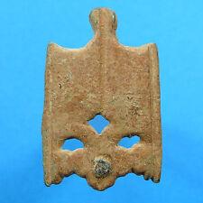 Medieval Xvi Century End Dagger Knife Seath Helmet Shaped 16Th