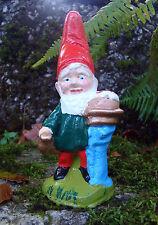 Garden Gnome ~  Monty ~ Handmade by Pixieland (Concrete)