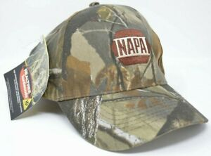 NAPA • CAMO HAT by RealTree Camouflage Adjustable Sizing NEW • NWT