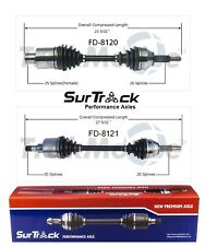 For Ford Freestar Mercury Monterey 04-07 FWD 2 Front CV Axle Shafts SurTrack Set