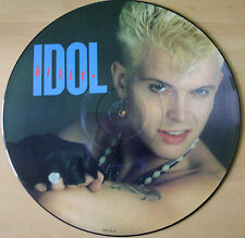 "OTTIMO! BILLY IDOL Rebel Yell 12"" VINILE PICTURE PIC DISC 1981"