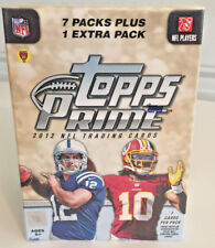 NEW Topps Prime 2012 NFL Football Trading Cards 8 PACKS 56 Cards Sealed Vtg