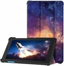 Funda delgada inteligente para Lenovo TAB E7 7 Tablet + Protector de Pantalla de Vidrio
