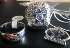 Dallas Cowboys 1971 ring and pendant with chain necklace, Stauback NEW