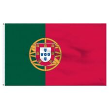 4x6 ft Embroidered Sewn Nylon Portugal Flag Banner