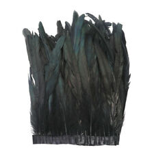 1Yard Feather Trim Fringe Sewing Crafts Costumes 25-30cm for DIY Craft Dress