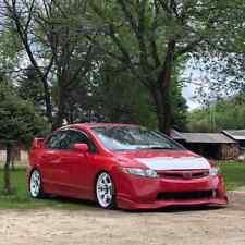 Car Bonnet Hood Bra in WHITE For Honda Civic Sedan 2006 2007 2008 2009 2010 2011