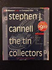 The Tin Collectors by Stephen J. Cannell (2010, CD, Abridged)
