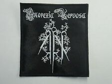 ANOREXIA NERVOSA BLACK METAL EMBROIDERED PATCH