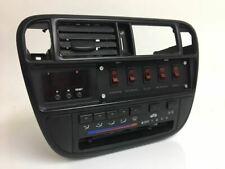 Honda Civic EK flush single din stereo switch panel w/ hardware