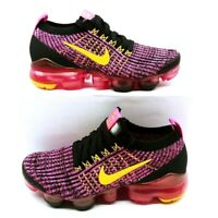 Nike Womens Air Vapormax Flyknit 3 Running Shoes Pink AJ6910-600 5.5 M New